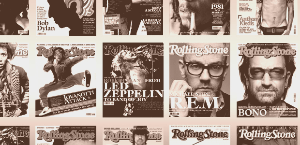 ROLLING STONE: social media marketing for the website